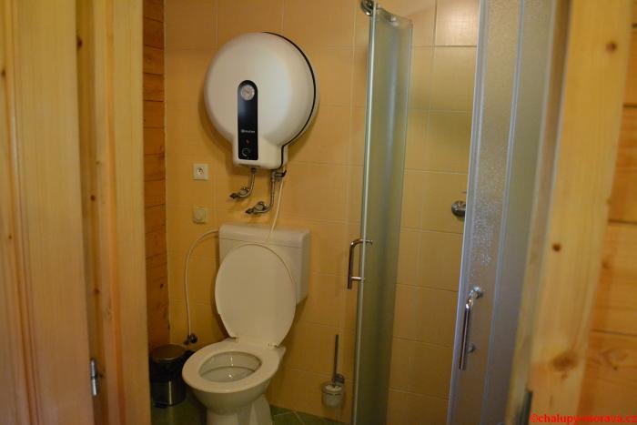 Chata u školky - záchod